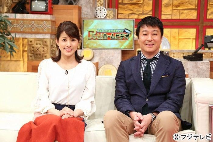 MCの(左から)永島優美フジテレビアナウンサー、加藤浩次(画像提供:フジテレビ)