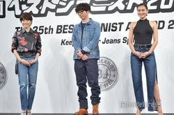(左から)荻野目洋子、高橋一生、長谷川潤(C)モデルプレス