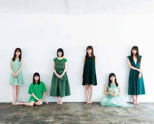 欅坂46新2期生、グループへの思い告白 グループカラーまとって登場