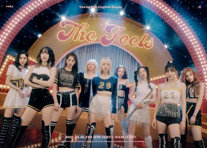 TWICE、初のフル英語シングル「The Feels」コンセプトフォト公開で「可愛すぎる」と期待の声続々 - モデルプレス