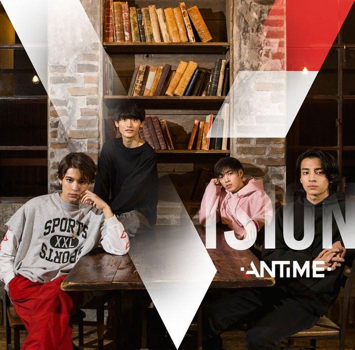 ANTIME 1st Album「VISION」(2018年2月14日発売)FC限定盤(提供写真)
