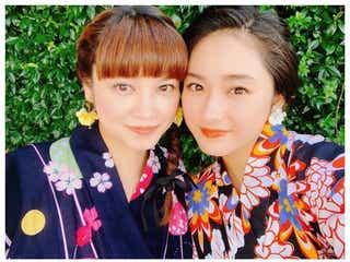 平愛梨&祐奈姉妹、浴衣2ショットに絶賛の声「トルコで着るなんて」