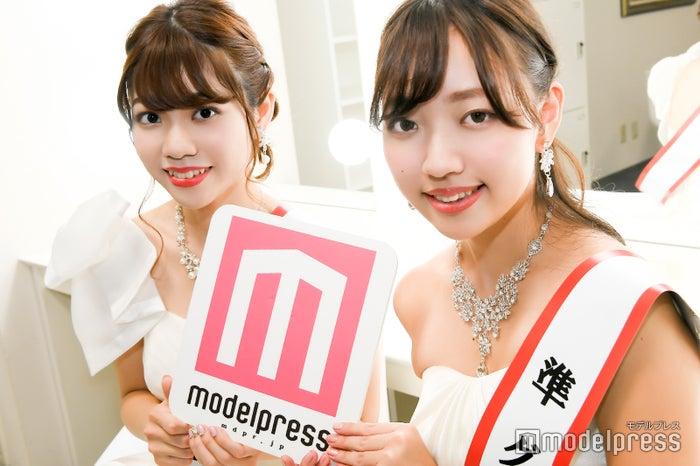 大間知莉奈さん、五十嵐瑞姫さん(C)モデルプレス