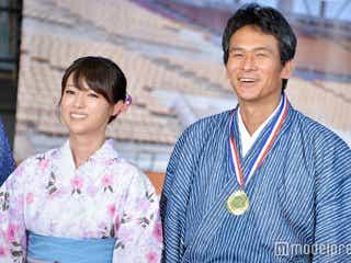 伊原剛志、深田恭子にキスを迫る「チューをもらうために頑張りました」