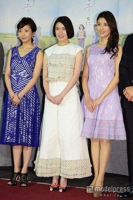 (左から)木南晴夏、村上絵梨、橋本マナミ