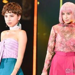ラブリ、ハンサムショートもかっこいい!ピンク髪から激変で観客驚き
