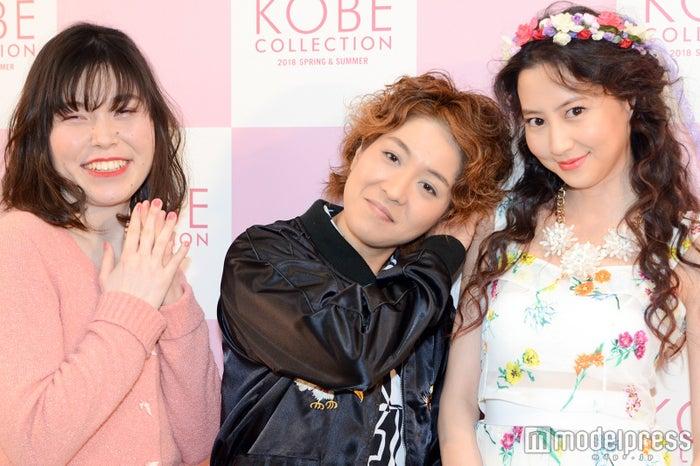 尼神インター誠子、渚、河北麻友子 (C)モデルプレス