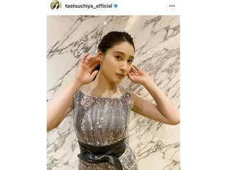 土屋太鳳、シースルードレスで際立つ透明美肌「最強かつ最高の組み合わせです」