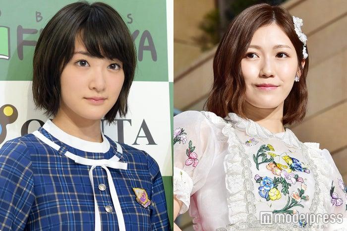 生駒里奈&渡辺麻友(C)モデルプレス