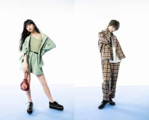 話題の2人Hinaと増子敦貴「SPINNS SPRING STYLE 2020」のビジュアルモデルに決定