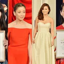 モデルプレス - <写真特集>宮沢りえ、大島優子、能年玲奈、小松菜奈ら美女がドレスアップで集結「第38回日本アカデミー賞」