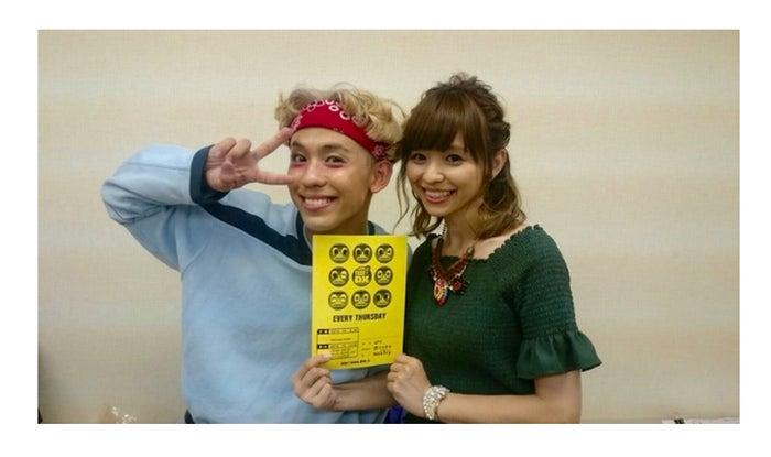 りゅうちぇると姉の比花知春/オフィシャルブログ(LINE)より