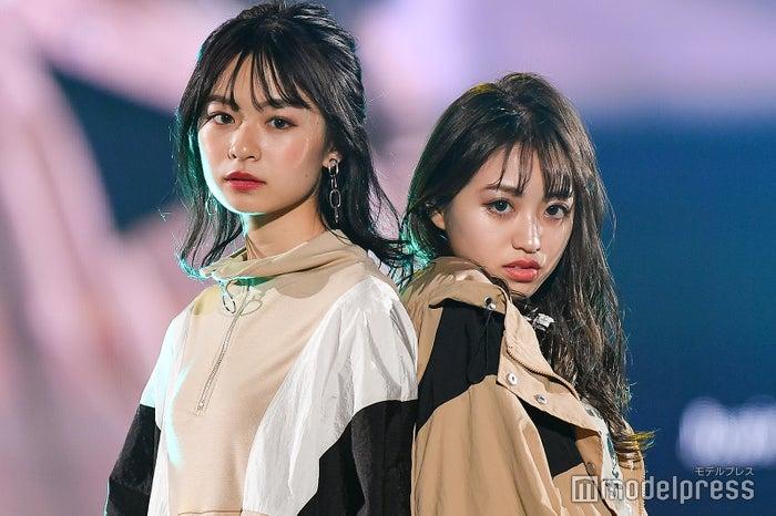 莉子(リコリコ)&香音(のんのん) (C)モデルプレス