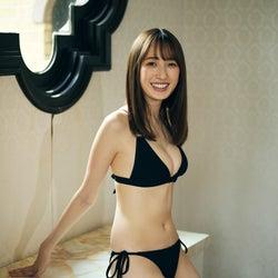 「ZIP!」卒業の團遥香、初の水着グラビア披露