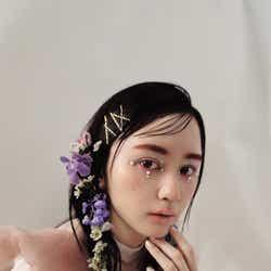 """モデルプレス - """"美しすぎると話題""""NMB48山本望叶、ハロウィンメイクで印象ガラリ"""