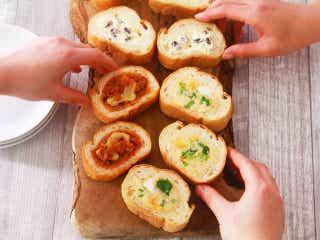 フランスパンに具材を詰めるだけ!冷めてもおいしい「スタッフドバゲット」がお花見弁当にぴったり