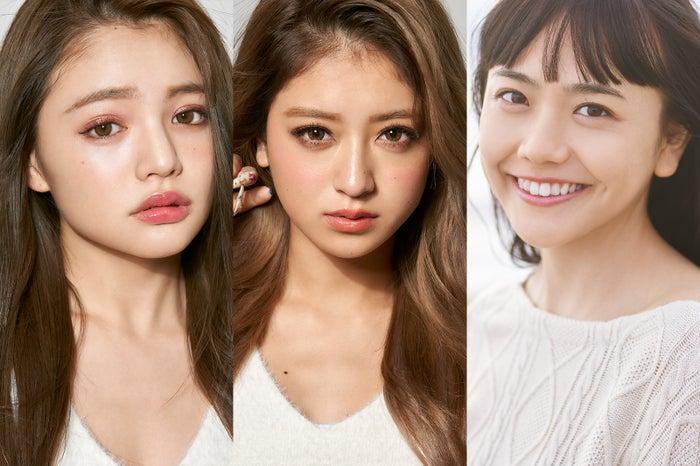 (左から)ちぃぽぽ、みちょぱ、松井愛莉(提供画像)