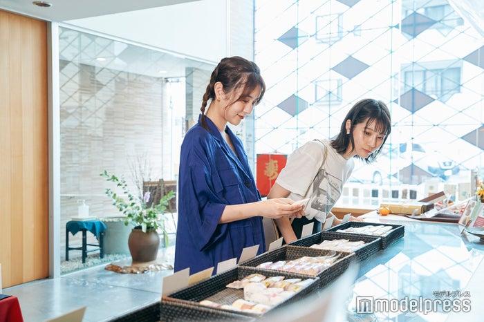 美味しそうな和菓子がいっぱい!1つから購入できるのも嬉しい。 (C)モデルプレス