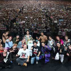 【HiGH&LOW THE WORST】VS【THE RAMPAGE from EXILE TRIBE】完成披露試写会&PREMIUM LIVE SHOWより(C)2019「HiGH&LOW THE WORST」製作委員会 原作:高橋ヒロシ(※「高」は正式には「はしごだか」)(秋田書店) HI-AX