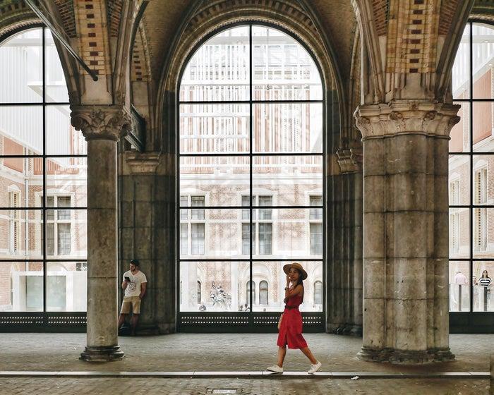 アムステルダム国立美術館にて@lifestock_yuuki