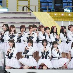 NGT48、チーム解散後初ステージで荻野由佳ら笑顔でパフォーマンス 全員で深く一礼も<AKB48グループ春のLIVEフェス>