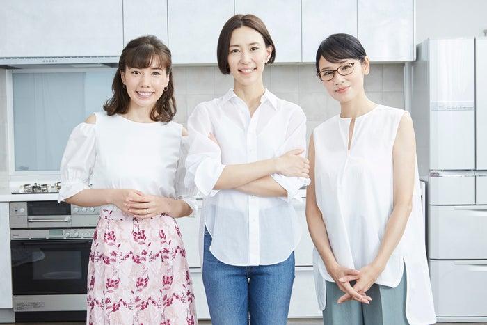 「恋する母たち」仲里依紗、木村佳乃、吉田羊(C)TBS