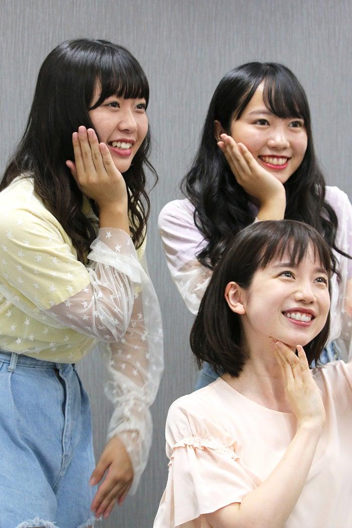 「むくえな」のもとに弟子入りした弘中綾香(C)テレビ朝日