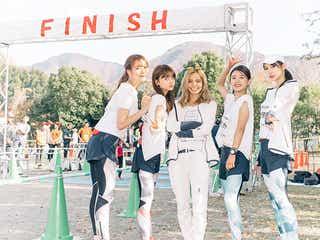 """""""走る美女""""たち、ハーフマラソンへ挑戦 TGR過去最速も樹立"""