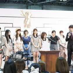 「AKB48 29thシングル選抜じゃんけん大会」本戦組み合わせ抽選会(C)AKS