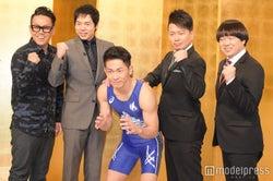 (左から)宮川大輔、今田耕司、太田博久、宮迫博之、蛍原徹(C)モデルプレス