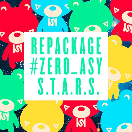 """ASY新アルバム「Repackage """"#Zero_ASY"""" ~S.T.A.R.S.~」(2014年12月24日発売)"""