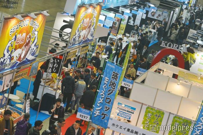 「FOODEX JAPAN 2019」会場風景(C)モデルプレス