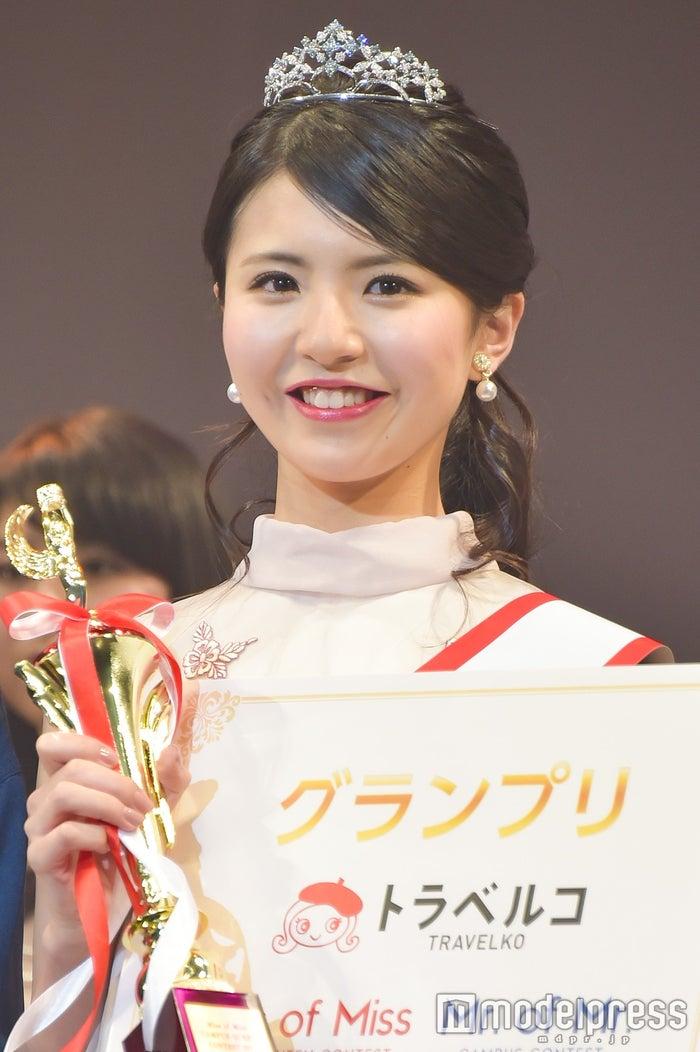 グランプリに輝いた立命館大学2年生・松田有紗さん (C)モデルプレス