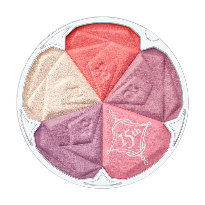 「ブルーム ミックスブラッシュ コンパクト 15th・08 twilight marigold」 (C)JILL STUART Beauty