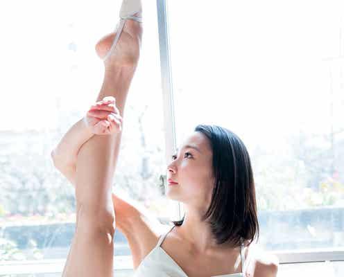 """""""リアル妖精""""と話題の美しすぎる新体操選手、超絶美脚&しなやかボディ披露"""