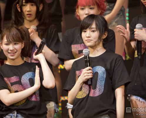NMB48山本彩、総選挙の速報結果に「正直とても不安になりました」