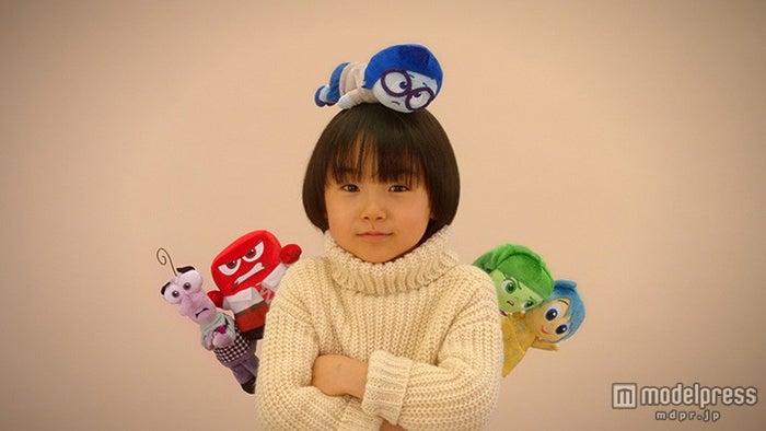 5つのキャラクターと様々な表情を見せる寺田心くん(C)2015 Disney/Pixar