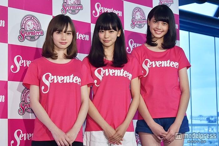 (左から)マーシュ彩、坂井仁香、松岡花佳