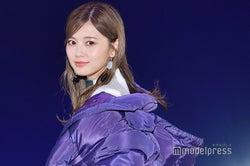 乃木坂46白石麻衣、ファッションステージのトリ飾る 美しくも儚いオーラで観客圧倒<GirlsAward 2018 A/W>