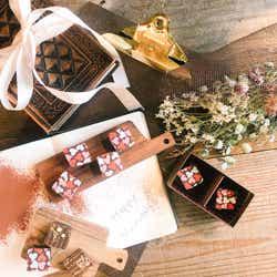 簡単なのに手抜きに見えない!「ハートのチョコレート」で想いを伝えて【柏原歩のトレンドレシピ】/画像提供:柏原歩