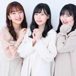 モデルプレス - HKT48運上弘菜・田島芽瑠・田中美久、13thシングル「3-2」メイク連載スタート