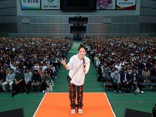 本田翼、YouTubeチャンネル「ほんだのばいく」1周年イベントに17000人集結