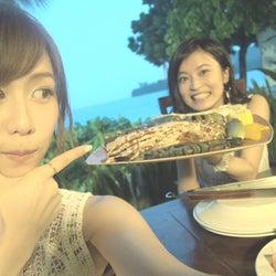 小島瑠璃子&AKB48大家志津香、グアムで2人旅 結婚&バラエティ番組への思いを語る