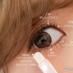キララさん目アップ/下瞼詳細&上瞼のラインの2重加減(C)モデルプレス