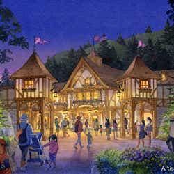 「ファンタジーランド・フォレストシアター」の外観 (C)Disney