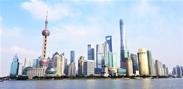 上海の街並み (C)モデルプレス