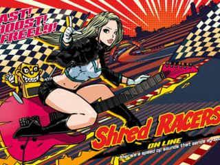 テクニカルギターオムニバスライブ「Shred RACERS」を8月29日14時から配信