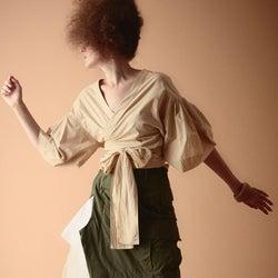 「アヤノグチアヤ」2020年春夏シーズンにデビュー 環境に配慮して作るモードなドレス