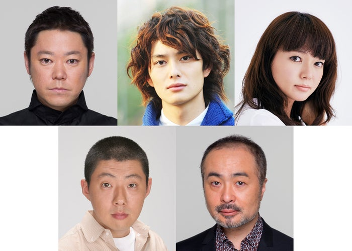 (左上から時計回りに)阿部サダヲ、岡田将生、多部未華子、松尾スズキ、荒川良々(提供写真)