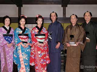 波瑠、次期朝ドラの豪華セットに「すごくびっくり」 玉木宏、宮崎あおいらも驚き